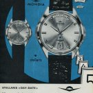 1965 Mondia Watch Company Switzerland Mondia Stellaris Advert 1965 Swiss Ad Suisse Advert