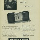 1954 Movado Watch Company Switzerland Movado Ermeto Advert Vintage 1954 Swiss Ad Suisse Advert