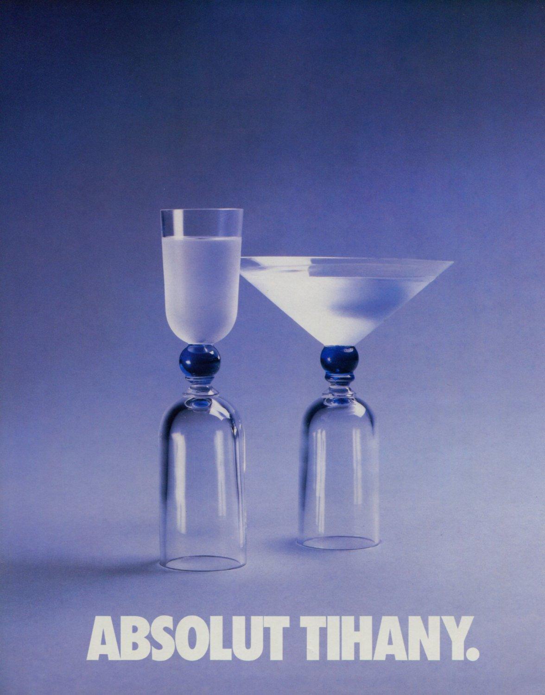 Absolut Tihany Adam Tihany Absolut Vodka Ad Advert Advertisement Adam D. Tihany