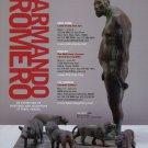 Armando Romero 2009 Art Exhibition Ad Advert The Giant