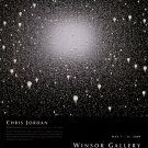 Chris Jordan 2009 Art Exhibition Ad Advert Light Bulbs Windsor Gallery Vancouver