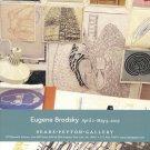 Eugene Brodsky 2009 Art Exhibition Ad Advert