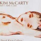 Kim McCarty 2009 Art Exhibition Ad Advert