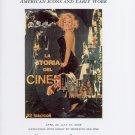 Mimmo Rotella American Icons Marilyn Monroe 2009 Art Exhibition Ad Advert