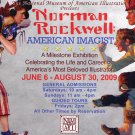 Norman Rockwell American Imagist 2009 Art Exhibition Ad Advert