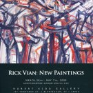 Rick Vian 2009 Art Exhibition Ad Advert
