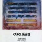 Carol Hayes 1994 Art Exhibition Ad Advert