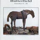 Deborah Butterfield 1994 Art Exhibition Ad Advert Ikezuki