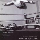 Brian Howell 2009 Art Exhibition Ad Advert Asian Cougar Wrestler Windsor Gallery