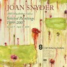 Joan Snyder 2009 Art Exhibition Ad Advert