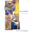 Sam Gilliam 2009 Art Exhibition Ad Advert Remembering Girls Ajar