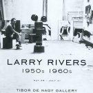 Larry Rivers 1950s 1960s 2009 Art Exhibition Ad Advert Tibor de Nagy