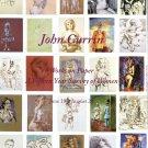 John Currin A Fifteen Year Survey of Women 2009 Art Exhibition Ad Advert
