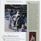 Evelyn Metzger Central Park 1997 Art Exhibition Ad Advert