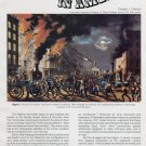 Fire Fighting in America by Donald J Cannon Magazine Article Firemen History Magazine Article