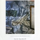 James Valerio 1997 Art Exhibition Ad Advert