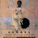 Leonel 1997 Art Exhibition Ad Advert The Angel of the Church of Sardis