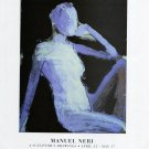 Manuel Neri 1997 Art Exhibition Ad Advert