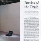 Robert Gober 1997 Poetics of the Drain Magazine Article by David Joselit