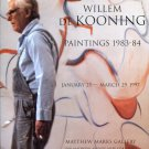 Willem de Kooning 1997 Art Exhibition Ad Advert Matthew Marks Gallery