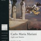 Carlo Maria Mariani Light and Shadow 2002 Art Exhibition Ad Advert