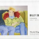 Billy Sullivan Friends 2006 Art Exhibition Ad Advert
