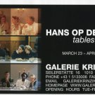 Hans Op de Beeck 2006 Art Exhibition Ad Advert