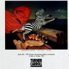Juan Kelly Jumping Out of a Still Life 1992 Art Exhibition Ad Advert