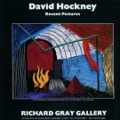 David Hockney The One with the Fire 1992 Art Exhibition Ad Advert