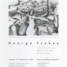 George Trakas 1992 Art Exhibition Ad Advert