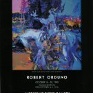 Robert Orduno Wohpe and White Crow 1992 Art Exhibition Ad Advert