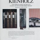 Edward and Nancy Kienholz The Merry-Go-World 1992 Art Exhibition Ad Advert