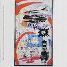 Kenny Scharf Blurrage 1992 Art Exhibition Ad Advert