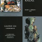 Emil Kazaz 2001 Art Exhibition Ad Advert