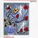 Maurice Sullins 1992 Art Exhibition Ad Advert