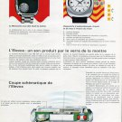 Nepro Watch Company Switzerland Memotron Elevox 1972 Swiss Magazine Article