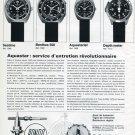 1970 Aquastar: Service d'entretien Revolutionnaire Swiss Magazine Article Aquastar Watch Co Suisse