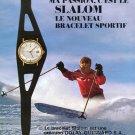 1972 Golay-Guignard SA Geneva Switzerland Slalom Advert 1972 Swiss Ad Suisse Advert Horology
