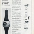Nepro Watch Company Switzerland Nepro Zanzara 1970 Swiss Magazine Article Suisse
