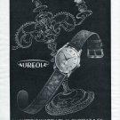 1952 Aureole Watch Company M. Choffat & Co. Vintage 1952 Swiss Ad Suisse Advert Schweiz Switzerland