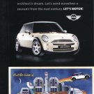 BMW Mini Cooper Arcosanti AZ Arizona Ad Postcard Mini Motoring Tour Advert
