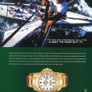 Rolex Watch Company Paul Cayard Champion Sailor Yachtsman Sailing Ad Advert