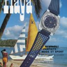 Golay-Guignard SA Switzerland Playa Advert 1972 Swiss Ad Suisse Advert Schweiz Horology Horlogerie