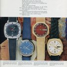 Bulova Watch Company 4 Colorful Versions of the Truth Bulova Accutron Advert 1971 Magazine Ad
