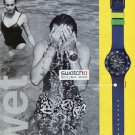 1993 Swatch Watch Company Swatch Scuba 200 Advert 1993 Ad Magazine Advertisement