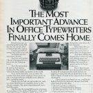 1977 Olivetti Typewriter Ad Magazine Advertisement Olivetti Lexikon 82 Typewriter Ad Advert