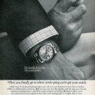 1977 Rolex Watch Company Jerry Pate Golf U.S. Open Vintage 1977 Ad Advert