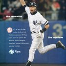 Fleet Bank New York Yankees Derek Jeter 2003 Magazine Ad Advert NY Yankees Baseball