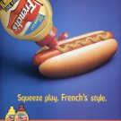 French's Mustard Official Mustard of New York Yankees Baseball 2003 Ad Advert Reckitt Benckiser Inc.