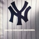 1986 Nike New York Yankees 1986 Magazine Ad Advert Men in Pinstripes Always Mean Business